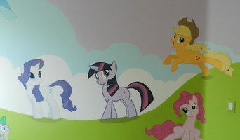 My Little Pony's Mural