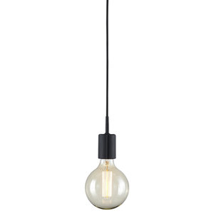 Gumdrop Pendant Light, Black