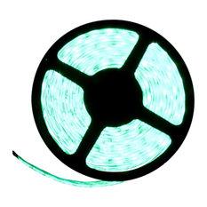 5054SMD Green Super Bright Flexible LED Light Strip 16' Reel, Reel Kit