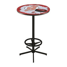 New Jersey Devils Pub Table 36-inch by Holland Bar Stool Company