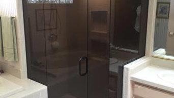 Complerted bronze shower