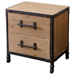 Industrial Nightstands And Bedside Tables by Abbyson Living