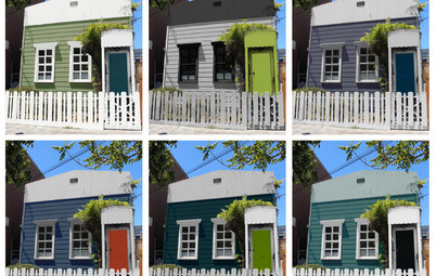 Choosing Color: 1 Cottage, 6 Striking New Color Schemes