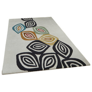 Inaluxe Leaves Rectangular Funky Rug, 150x230 cm