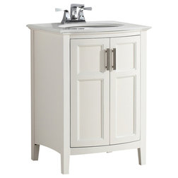Great Make your small bathroom beautiful with a vanity in a fitting size and style