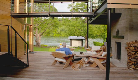 Houzz TV: This Amazing Lake House Is A Couple's Dream Come True