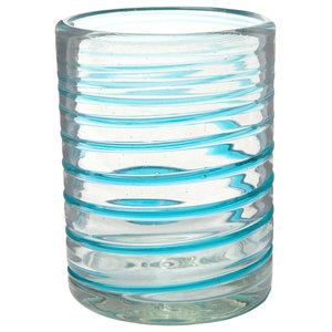 3e9c2d4b06c Perla Luster Double Old Fashioned Glass, Set of 6, 12 oz ...