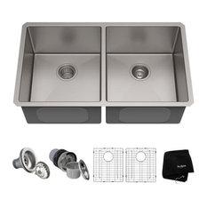 33 Undermount Stainless Steel Kitchen Sink