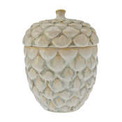 Candy and Cookie Jar in Pine Cone Shape