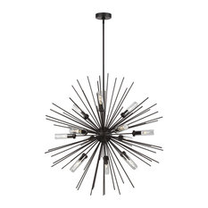 Hilo 12-Light Chandelier, Oil Rubbed Bronze With Undefined