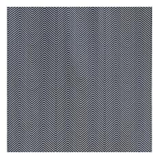 Chevron Curtain Fabric, Ink Blue