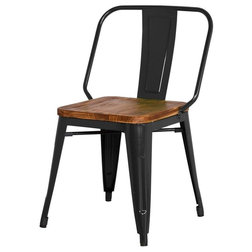Industrial Dining Chairs by Apt2B