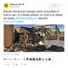 Eleven US Troops Were Injured in Jan. 8 Iran Missile Strike