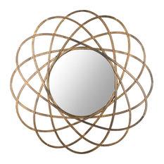 Safavieh Galaxy Wall Mirror, Antique Gold