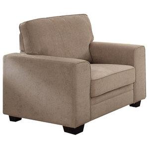Acme Catherine Chair, Khaki Fabric