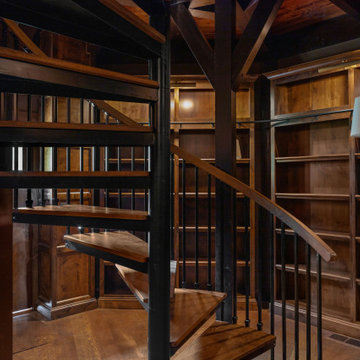 Stunning Detached Home Library
