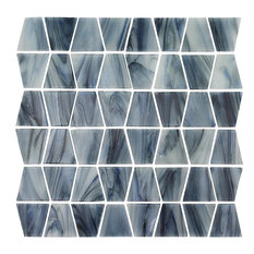 Biscay, Trapezoid Mosaic - Glass Tile