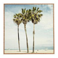 Deny Designs Bree Madden Venice Beach Palms Framed Wall Art