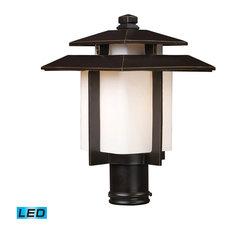Elk Lighting Elk Lighting 42173 1 Led Kanso 1 Light Outdoor Post