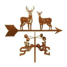 Standing Deer Weathervane With Roof Mount