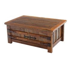 Woodland Creek Furniture   Barnwood Heritage Coffee Table   Coffee Tables