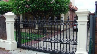 Elizabeth / Mary Cast Aluminium Gates & Fence Panels