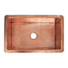 """Cocina 30"""" Kitchen Sink, Polished Copper"""