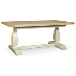 Transitional Dining Tables by Houzz