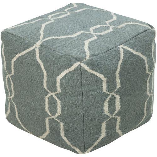 Surya Poufs- (POUF-25) - Floor Pillows And Poufs