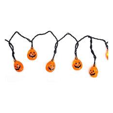 B/O Jack-O-Lantern Pumpkin LED Halloween Lights