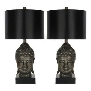 Safavieh Addison Glass Table Lamps, Set of 2