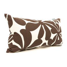 Outdoor Small Plantation Pillow, Chocolate