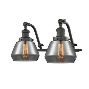 Innovations-Lighting 515-2W-OB-G1 Halophane 2-Light Bath Vanity Light