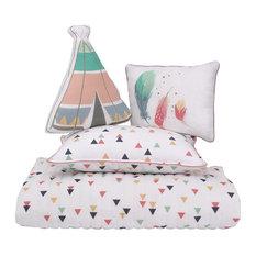 4-Piece Boho Toddler Bedding Set