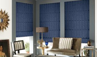 Blindsgalore® Designer Roman Shades: Subtle Stripe