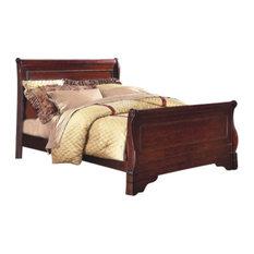Emma Mason Signature Hyattsville Eastern King Sleigh Bed, Bordeaux NEW0282