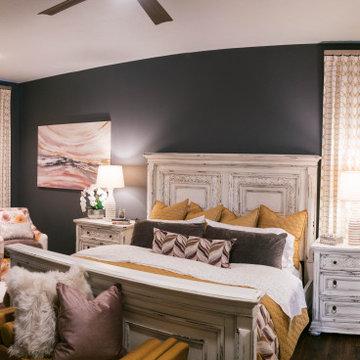 Modern Shabby Chic Master Bedroom