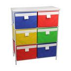 Simply Distinctive Metal Storage Cart Eclectic Display