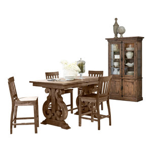 Magnussen Willoughby 6-Piece Rectangular Counter Dining Set, Configuration 2