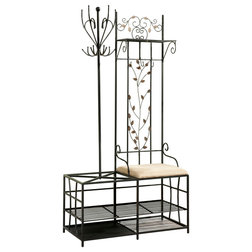 Mediterranean Coatracks And Umbrella Stands by Pilaster Designs