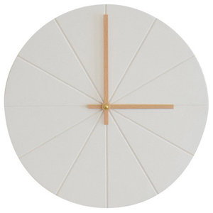 VonHollstein. Wall Clock, White