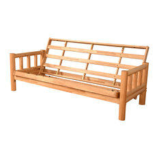 Gunner Frame Futon With Natural Finish, Frame Only