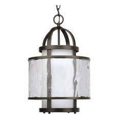 1-Light Foyer, Antique Bronze