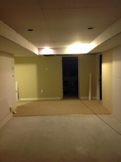 Looking For Ideas On Paint Colour For Basement Rec Room Office