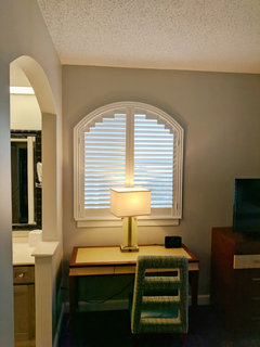 Are plantation shutters the right choice for your windows for Should plantation shutters match trim