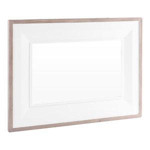 Rectangular Mirror, 80x110 cm, Pure White