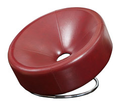 Nouvelle Design Leather Accent Chair Contemporary Armchairs And