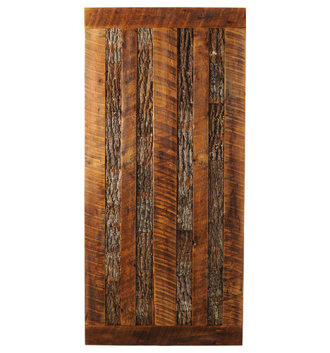 Big Sky Barn Doors - Mountain Side Limited Edition Door, Finished, 38x97 - Interior Doors