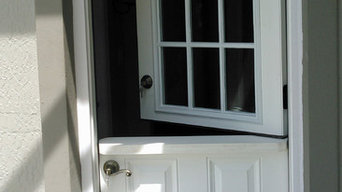 Custom fiberglass Dutch Door