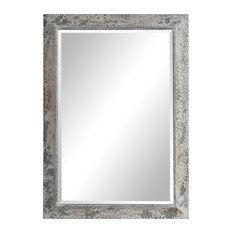 Uttermost Raffi Aged Silver Mirror